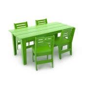 Set garden furniture - rectangular